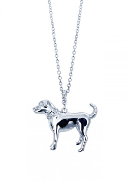 銀座オーダージュエリーサロンでは愛犬がジュエリーになります。