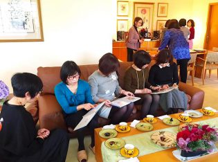 ユンヌピエールアンプリュスのお茶会を開催しました。