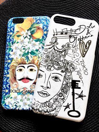 お気に入りドルチェ&ガッバーナのiPhoneケース