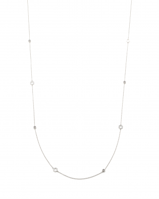 銀座ユンヌピエールアンプリュスのオリジナルロングDecoネックレスがカスタマイズ出来る。