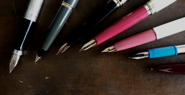 古い万年筆