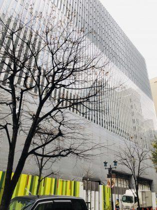 MUJIホテルが新しいビルにて開業予定です。