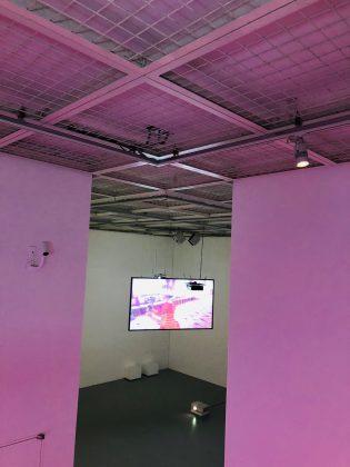 若手映像作家さんの作品の展示が面白い。