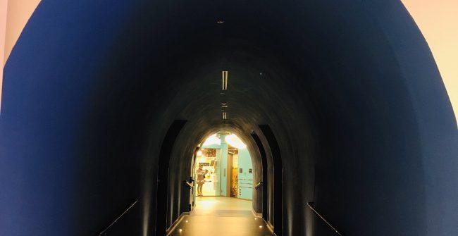 トンネルを抜けるとそこには、、