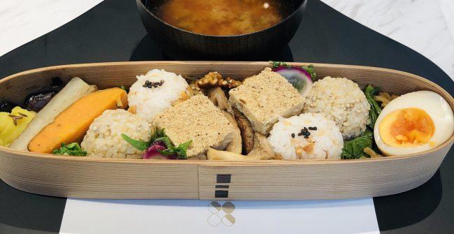 銀座で食す「美しいお弁当」ランチ。