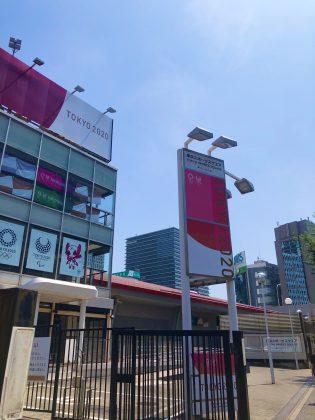 東京スポーツセンターが閑散としていました。
