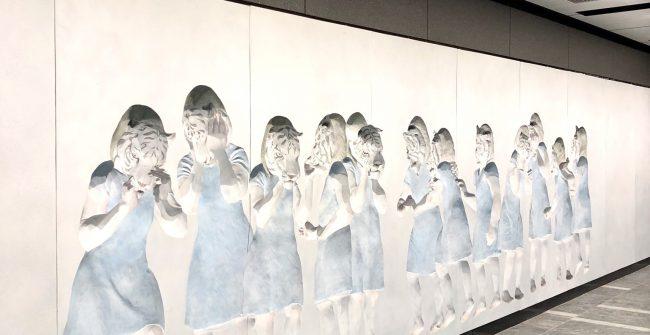 東京メトロ銀座線パブリックアート《虎ノ門駅》編