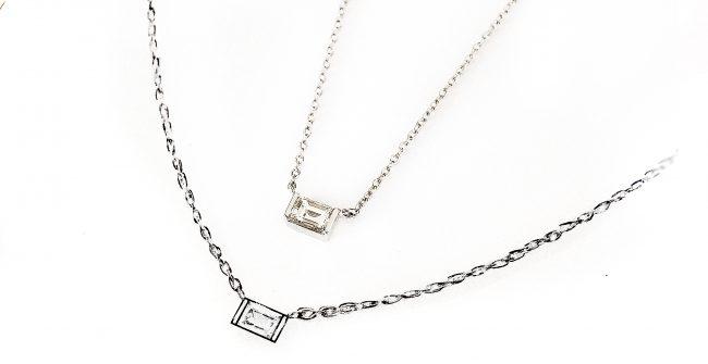 リングのダイヤモンドをネックレスに