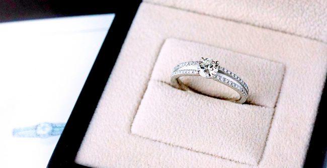 大切な婚約指輪をリスタイル