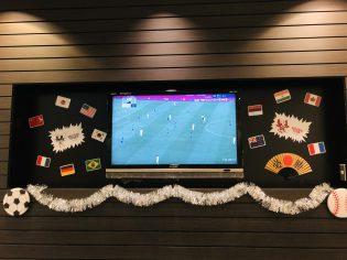 オリンピックサッカー日本戦。
