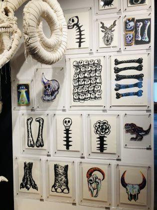 骨と牙とい面白い展示をみました。
