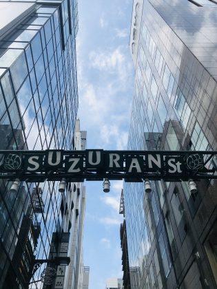 銀座SUZURAN通りの写真です。